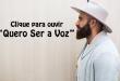 Sérgio Saas Lançará 40 Músicas Inéditas neste ano – Conheça a Primeira Canção do Projeto