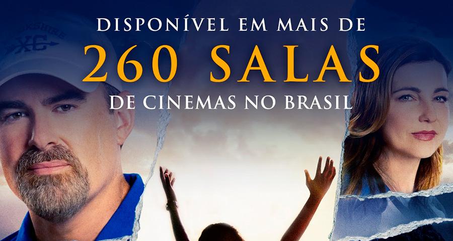 """""""Mais Que Vencedores"""" estreia em mais de 260 salas de cinemas do Brasil"""